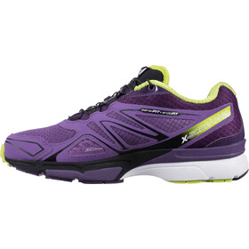 Salomon X-Scream 3D Trailrunning Shoes Women rain purple/cosmic purple/gecko green